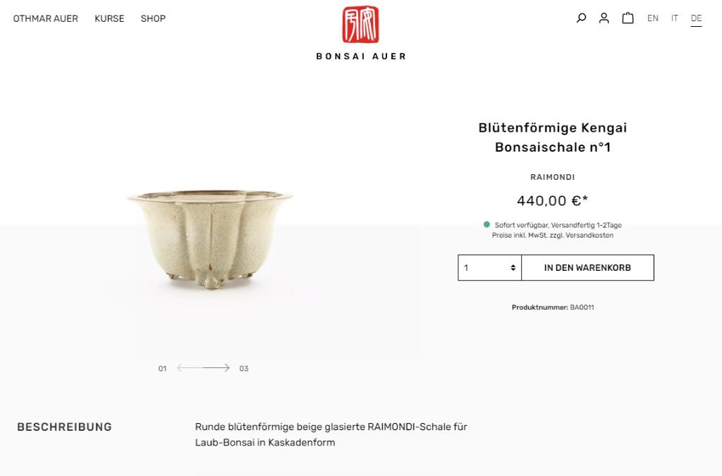 Auer Othmar | Bonsai in Brixen