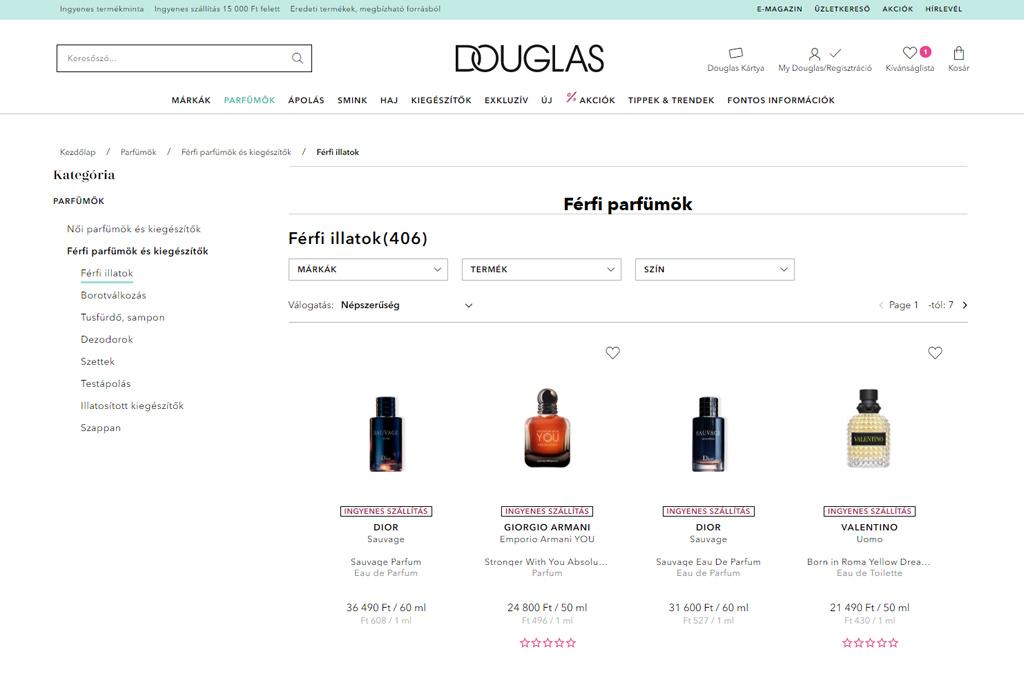 Douglas Hungary