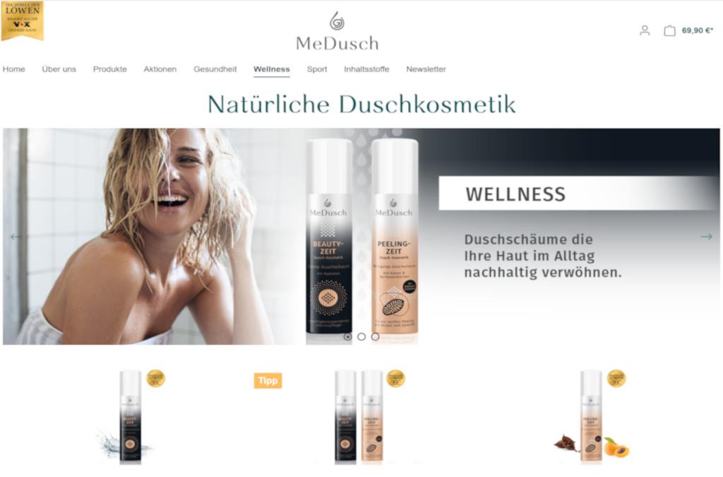MeDusch | Onlineshop