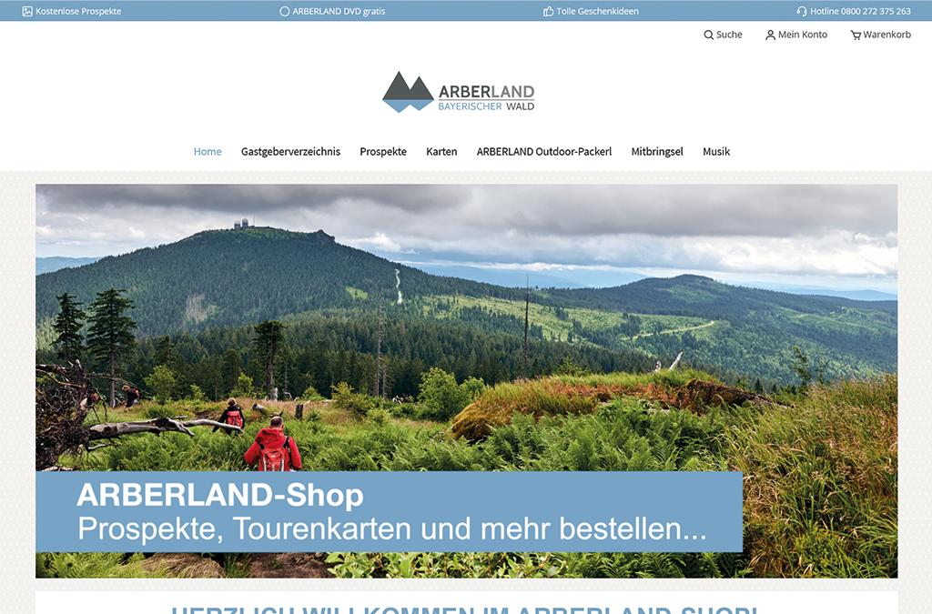 Arberland Shop