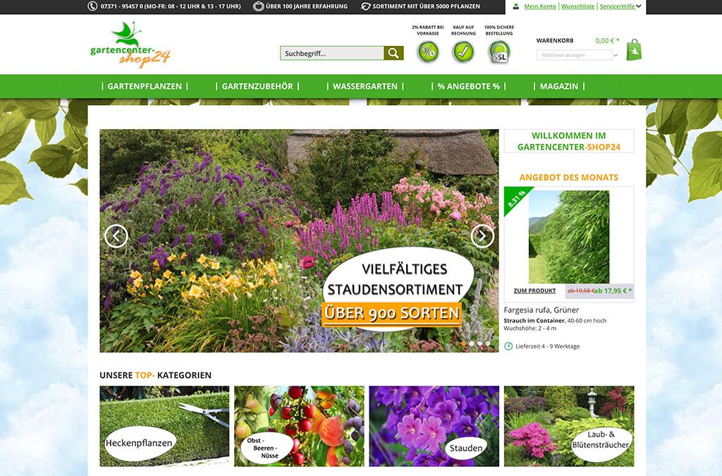 Gartencenter Shop24