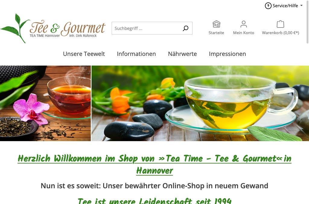 Tee & Gourmet