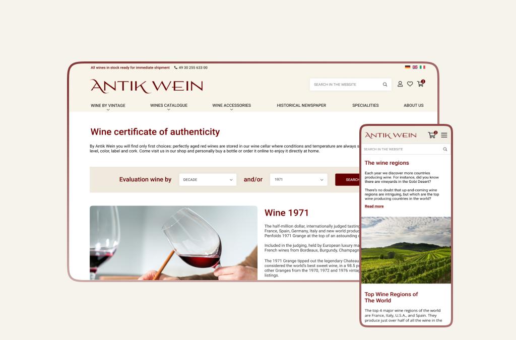 Antik Wein