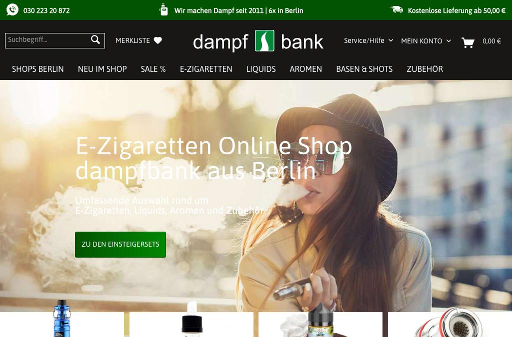 Dampfbank