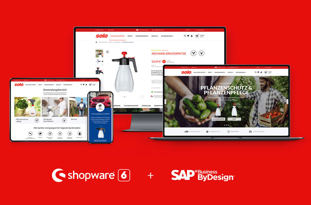 SOLO Kleinmotoren GmbH – Shopware 6