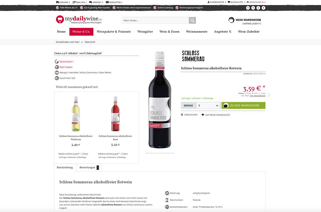 Wein günstig kaufen | mydailywine.de