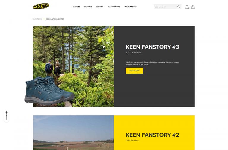 KEEN footwear - Offizieller Schweizer Markenshop