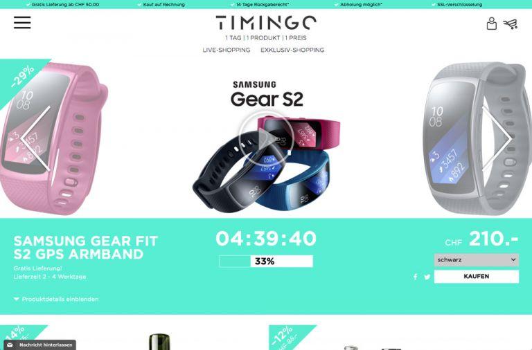 TIMINGO Live-Shopping