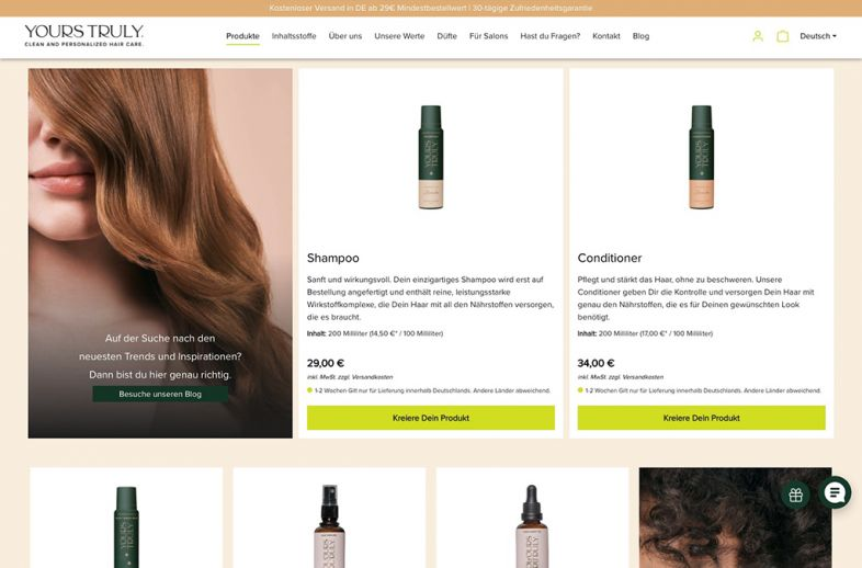 Yours Truly Haircare