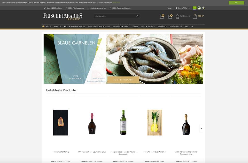 FrischeParadies - Der Shop