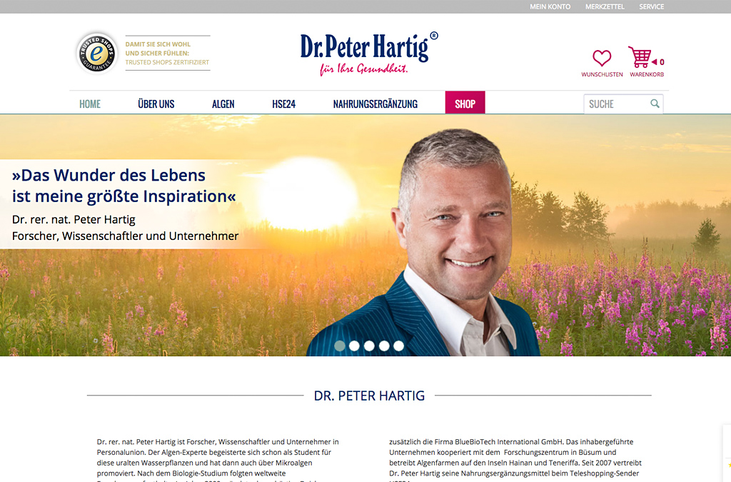 Dr. Peter Hartig®