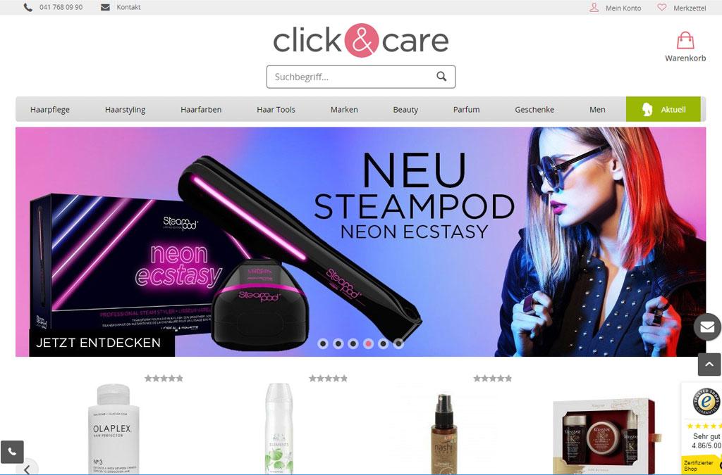 click & care