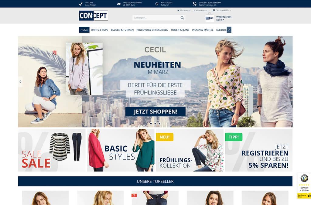 CONCEPT Modehandel