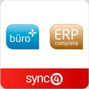 sync4 Schnittstelle für büro+ & ERP-complete