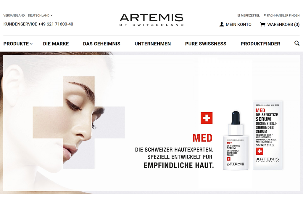 ARTEMIS OF SWITZERLAND