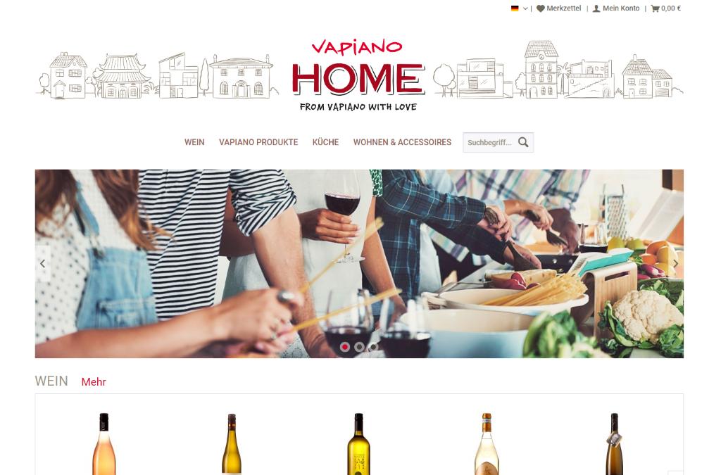 VAPIANO HOME