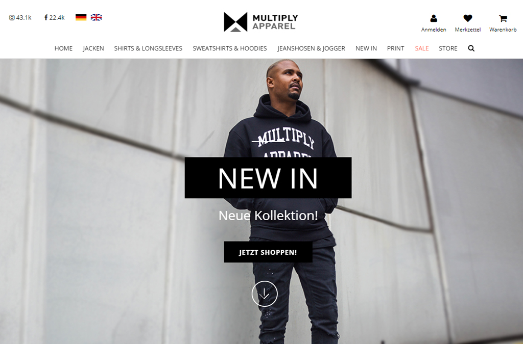 Multiply Apparel
