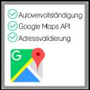 Google Adressen Autovervollständigung + Validierung