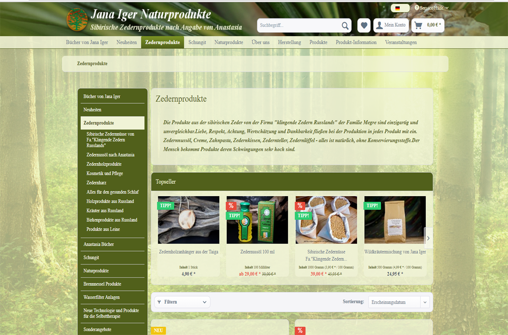 Jana Iger Naturprodukte