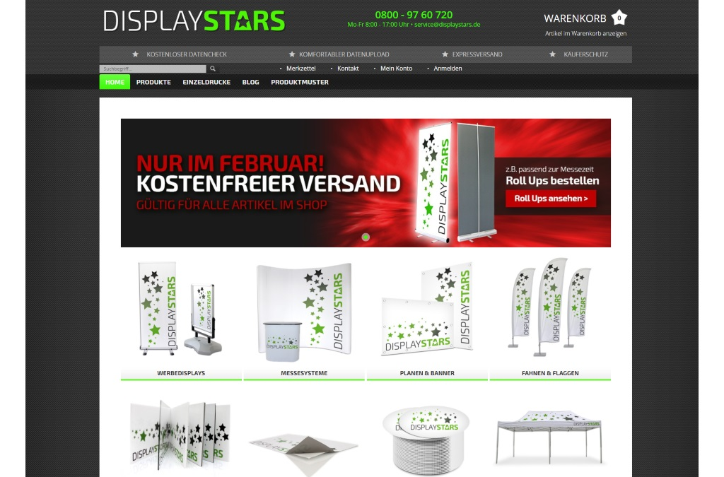 Displaystars.de