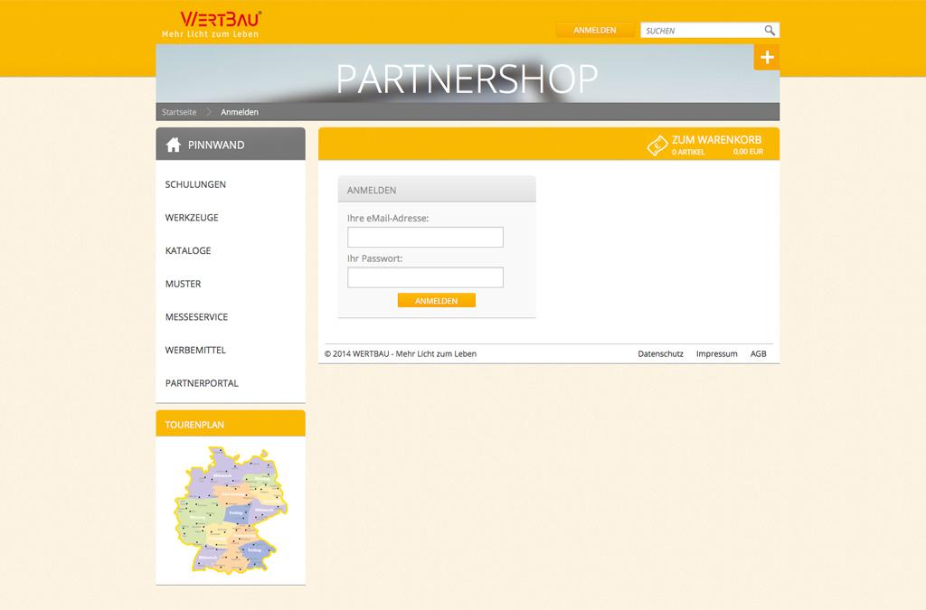 Wertbau Partnerweb