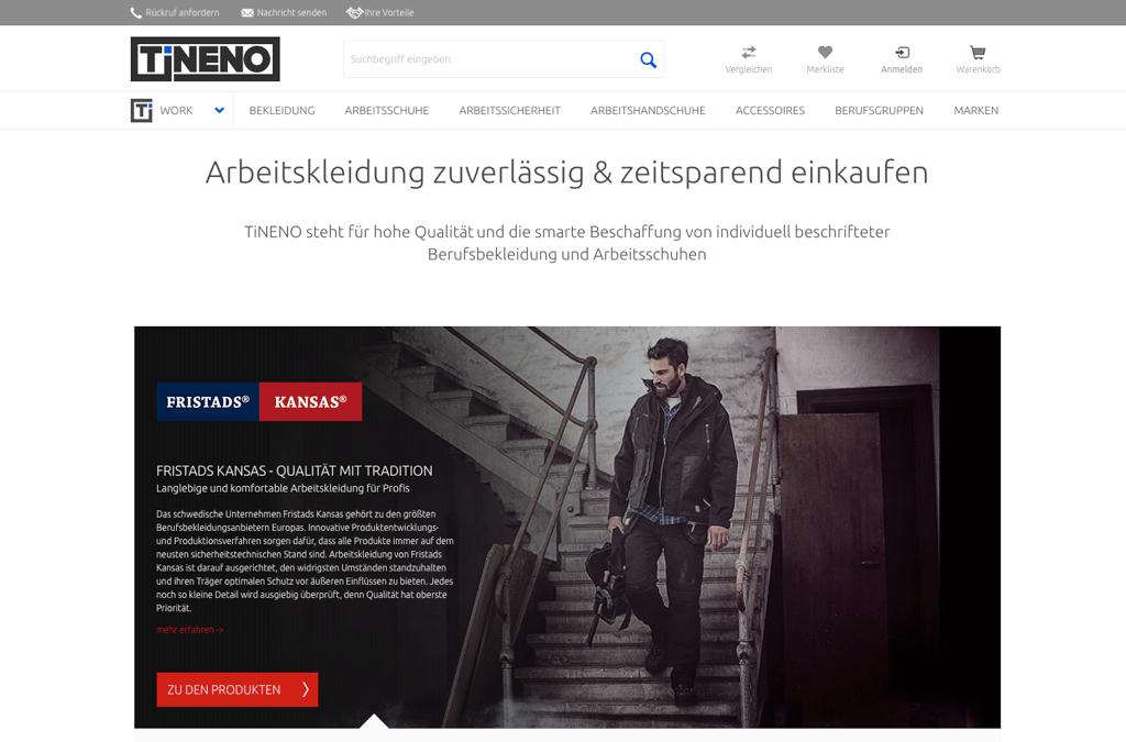 TiNENO | Arbeitskleidung online kaufen