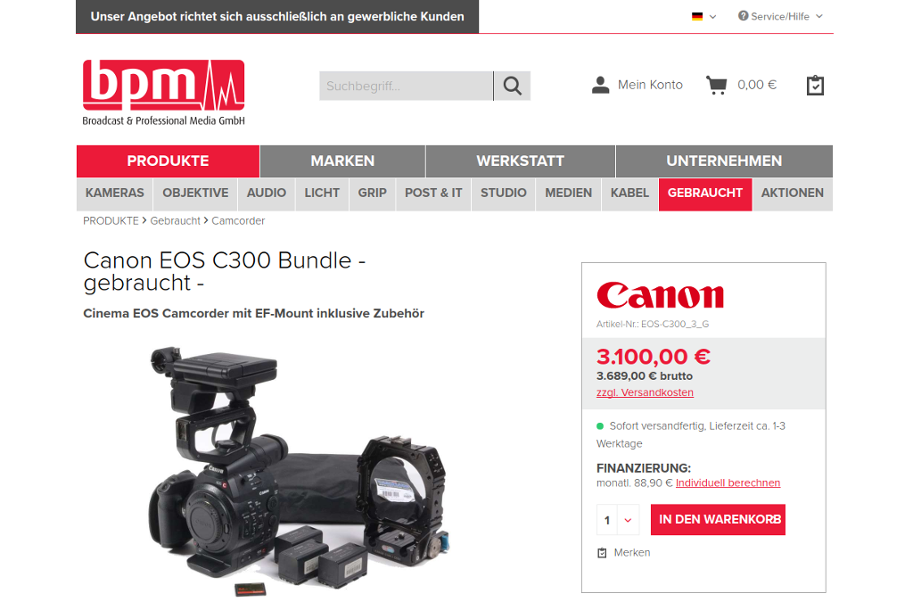 BPM Broadcast & Professional Media