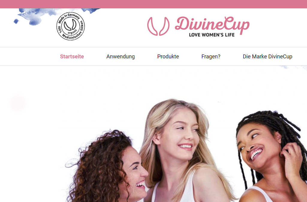 DivineCup - Love Women´s Life