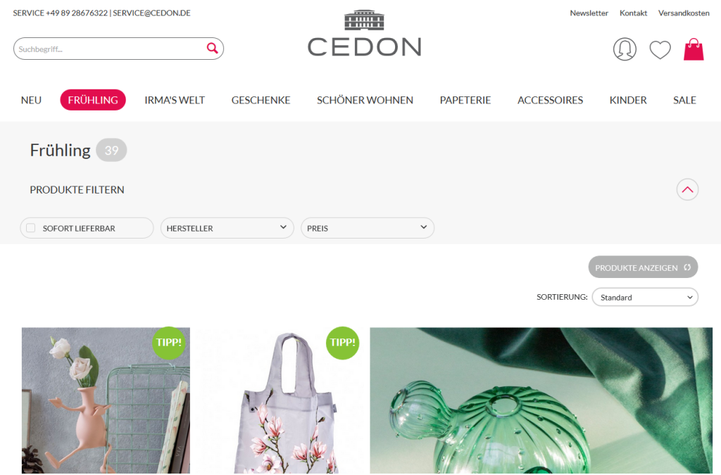 CEDON Museumshop