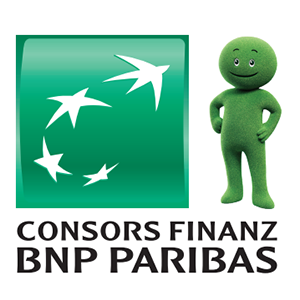 Kauf auf Rechnung/Lastschrift by Consors Finanz Logo